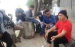 Gubernur Kalteng Ngobrol Santai Bareng Wartawan Sambil Nikmati Keindahan Pantai Ujung Pandaran