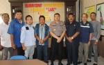 Pengurus PWI Silaturahmi dengan Kapolres Seruyan