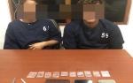 Pria dan Wanita Warga Baamang Ditangkap saat Kemas Paketan Sabu