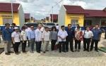 Tim Project Review Mission NUSP 2 Tinjau Pembangunan Perumahan di Handel Berkat Makmur