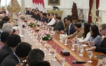 Presiden Jokowi Terima Delegasi Dewan Bisnis AS-ASEAN