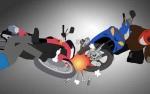 Sepeda Motor Saling Tabrak, Seorang Pengendara Tewas
