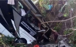 Bus Rombongan Guru TK Terguling, 5 Orang Meninggal