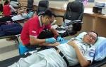 Jasa Raharja Cabang Kalteng Gelar Donor Darah Sambut HUT ke 59