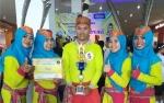 Tim MTsN 2 Kapuas Raih 2 Gelar Juara pada Lomba Senam Kreasi Tobelo