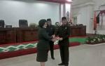 Wakil Bupati Barito Selatan Sampaikan 3 Raperda ke DPRD