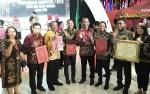 Bupati Barito Timur Terima Penghargaan dari Menteri Hukum dan HAM