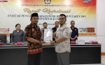 KPU Sukamara Gelar Rakor Evaluasi Pemilu 2019
