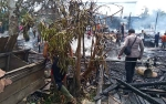 2 Rumah dan 1 Gedung Walet Terbakar di Katingan, 3 Ibu Rumah Tangga Alami Luka Bakar