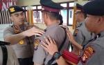 JabatanKabagsumda dan Kapolsek Katingan Kuala Diserahterimakan