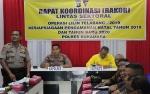 Polres Sukamara Gelar Rakor Lintas Sektoral untuk Pengamanan Natal dan Tahun Baru