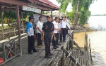Dinas Perhubungan Kapuas Survey Lokasi Pemasangan Rambu Alur Sungai, Ini Tujuannya?