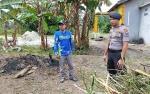 Kapolsek Sei Sampit Imbau Warga Bersihkan Semak Belukar agar Tidak Jadi Sarang Ular