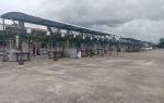 PKL Sambut Baik Pembangunan Shelter di Taman Kota Kuala Kurun