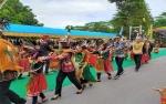 Tari Klosal Sampit Ethnik Carnival Pukau Penonton