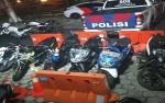 Polresta Palangka Raya Amankan Puluhan Motor dari Pelaku Balap Liar