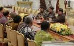 Presiden Jokowi Terima Pengurus PSSI 2019-2023