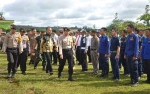 Polres Gunung Mas Gelar Upacara Operasi Lilin Telabang