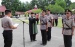 Kapolres Murung Raya Pimpin Sertijab Kabag Ops dan Kapolsek Permata Intan