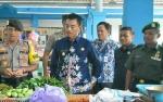 Wakil Bupati Barito Utara Sidak Pasar Bebas Banjir Muara Teweh