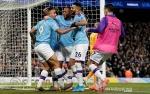 Man City Bekuk Leicester 3-1, Selisih Menipis Satu Poin