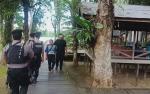 Anggota Polresta Palangka Raya Amankan Obyek Wisata Saat Liburan