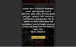 Sebelum Diblokir, Situs Indoxxi Tutup Awal Tahun 2020