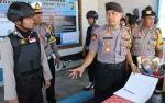 Kapolres Sukamara Cek Pos Pengamanan Natal dan Tahun Baru 2020