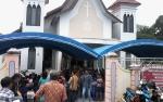 Ibadah Natal di Sejumlah Gereja di Kasongan Lancar dan Aman