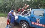 Dinsos Kapuas dan Tagana Salurkan Bantuan untuk Korban Kebakaran