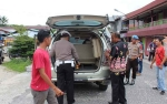 Satlantas Polres Sukamara Cek Kelayakan Angkutan Umum