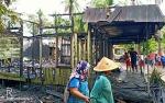 Rumah Warga di Desa Tamban Luar Bataguh Terbakar