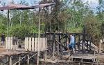Asrama Pondok Santri Majelis Asyalawatiyah Desa Sei Kayu Terbakar
