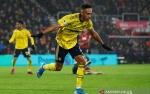 Aubameyang Selamatkan Arsenal dari Kekalahan dalam Debut Arteta