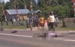 Kecelakaan di Jalan Tjilik Riwut, Satu Pemotor Tewas di Tempat