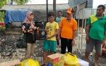 BPBD Kapuas Salurkan Bantuan kepada Korban Kebakaran di Desa Tamban Luar