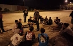 Anggota Polsek Murung Ciduk Gerombolan Remaja Sedang Kelahi di Alun-alun Puruk Cahu