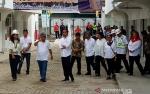Presiden Minta Pedagang Jaga Kebersihan Pasar Djohar