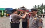 50 Personel Polres Barito Utara Naik Pangkat