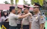 45 Personel Polres Kobar Naik Pangkat di Akhir Tahun