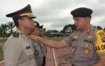 36 Personel Polres Barito Selatan Naik Pangkat