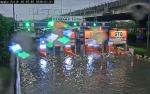 Tol Jakarta - Cikampek Banjir, Jasa Marga Turunkan Pompa Air