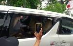Prabowo dan Putranya Menemui Presiden Jokowi di Gedung Agung