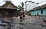 Bupati Kobar Minta Camat dan Kades Segera Lapor Bila Terjadi Banjir