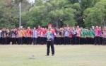 ASN Pemprov Kalteng Ikuti Apel Besar di Halaman Kantor Gubernur