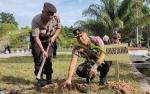 Polres Sukamara Gelar Penanaman Pohon Buah