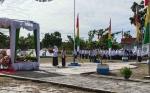 Petugas Upacara Peringatan Hari Amal Bhakti Kemenag Sukamara Semuanya Perempuan