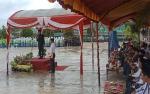 Upacara Peringatan Hari Amal Bakti Kementerian Agama di Murung Raya Diguyur Hujan