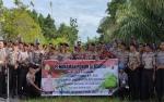 Polres Sukamara Tanam 94 Pohon Buah