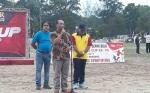 Pemkab Kobar Apresiasi Desa Pasir Panjang Rutin Gelar Turnamen Sepakbola